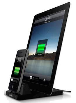 XtremeMac IPU-IDP-13 InCharge Duo Plus Doppel-Ladedock für Apple IPod/Iphone/Ipad/