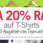 M and M Direct: Bis zu 90% Rabatt auf T-Shirts