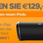 Apple iPad kaufen & JBL Flip II Bluetooth-Lautsprecher im Wert von 119€ gratis dazubekommen