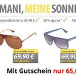 Original Emporio Armani Sonnenbrillen für 65,00€ inkl. Versand