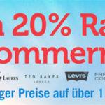 M and M Direct: 20% Extra-Rabatt auf bereits reduzierte Sommermode