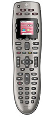 universalfernbedienung logitech harmony 650 display fernseher receiver