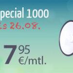 100Min in alle Netze/100SMS + 1GB Daten für 7,95€ für Vielsurfer monatlich kündbar