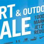 M and M Direct Sport & Outdoor-Sale: Über 1.000 Markenprodukte bis zu 88% reduziert