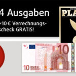 """4 Ausgaben """"Playboy"""" für effektiv nur 13€"""