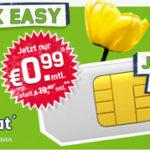 Getmobile: 100 Minuten + SMS-Flat + 500 MB Internetflat für nur 0,99€ monatlich