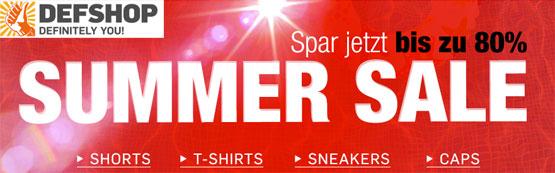 Summer Sale angebot def-shop günstig rabatt