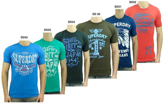 t-shirts superdry günstig aktion angebot marke