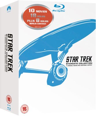 Star Trek Collection Angebot Deal Günstig bluray
