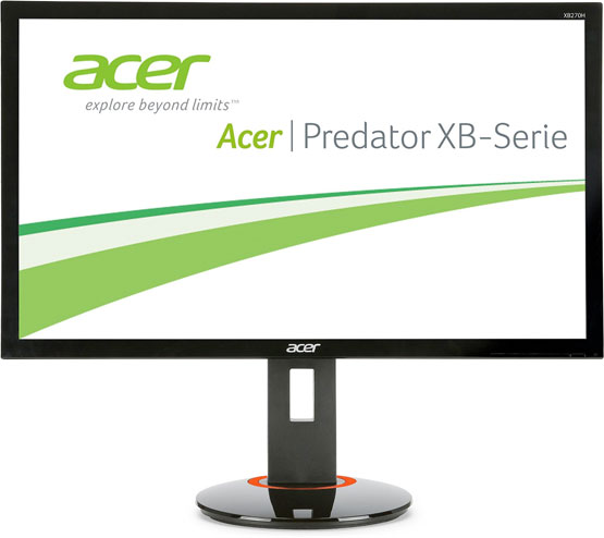 monitor gaming schnell acer günstig