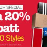 M and M Direct: 20% Extra-Rabatt auf bereits reduzierte Schuhe