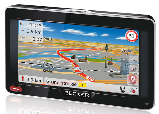 navigationsgerät günstig becker europakarten lifetime günstig