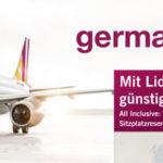Germanwings Europa One-Way Tickets inkl. Gepäck + Sitzplatzreservierung + Snack mit Getränk ab 39,99€ inkl. Steuern