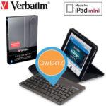 Verbatim Mini-Schutzhülle mit Bluetooth-Tastatur (Deutsch) für Apple iPad Mini (1,2,3) für 25,90€ inkl. Versand (statt 43,58€)