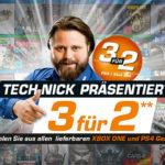 Saturn Aktion: Nimm 3, zahl 2 bei Games (Xbox One und PS4)