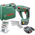 Bosch Uneo Maxx Schlagbohrhammer + 19 tlg. Uneo-Zubehör-Set für 129,99€ inkl. Versand