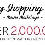 C&A: Crazy Shopping Days – über 2 Millionen Teile reduziert