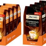Jacobs Espresso d'Aroma oder Jacobs Crema d'Aroma – je 4kg für nur 29,99€ inkl. Versand (statt 49,96€)