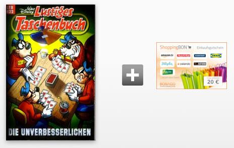 lustiges taschenbuch disney aktion angebot gutschein