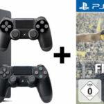 Sony PlayStation 4 Slim 1TB + Fifa 17 + 2. Controller für 299,00€ inkl. Versand (statt 362,89€)