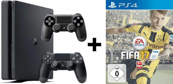 Playstation 4 Slim Bundle Weihnachtsgeschenk Angebot Deal