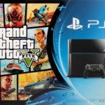 PlayStation 4 500GB + GTA Five für 379,00€ inkl. Versand