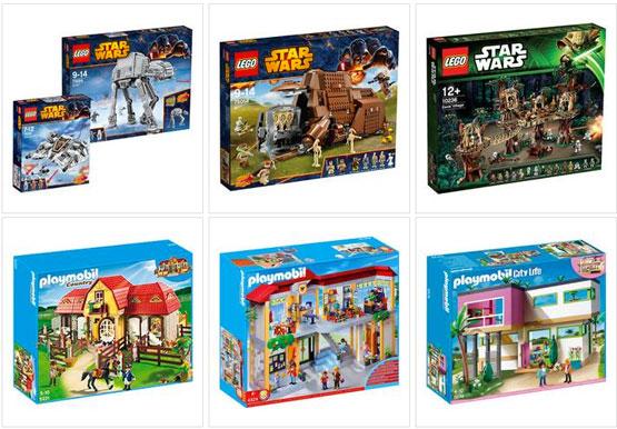 gutschein lego star wars playmobil günstig weihnachtsgeschenke
