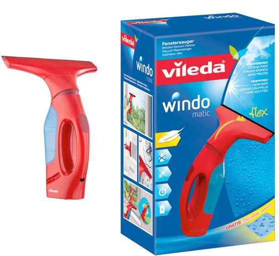 vileda windomatic fenstersauger windowmatic fenster putzen haushalt angebot günstig