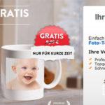 myprinting-Aktionen: Schneekugel oder Fototasse gratis, Backschürze für 0,99€