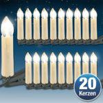 Lunartec 2 x LED-Lichterketten mit je 20 LED-Kerzen für 8,90€ inkl. Versand