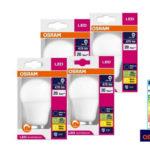 4er-Pack Osram LED-Lampen E27 für 30,90€ inkl. Versand (statt 41,92€)