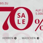 Engelhorn: Bis zu 70% Rabatt im Sale + 15€ Gutschein