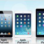 Verschiedene iPad-Bundles mit Talk Easy-Tarif (z.B. Apple iPad mini 2 16GB + Telekom 100 Min. + 250 MB + SMS-Flat für 10,03€ mtl.)