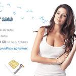 DeutschlandSIM Smart 1000: 250 Min + 250 SMS + 1 GB Flat für 9,95€ (monatlich kündbar)