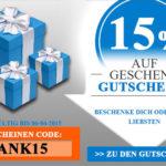 Kapatcha: 15% Rabatt auf alle Geschenkgutscheine