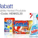 Amazon: 20% Rabatt auf ausgewählte Reinigungsprodukte von Henkel