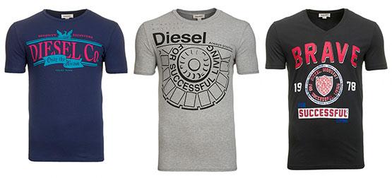 diesel t-shirs günstig angebot aktion