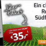 12 Flaschen Rotwein Promesse Merlot Pays d'Oc für 41,50€ inkl. Versand (statt 95,76€)