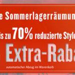 Tom Tailor: Final Summer Sale mit bis zu 70% Rabatt + 30% Extra-Rabatt