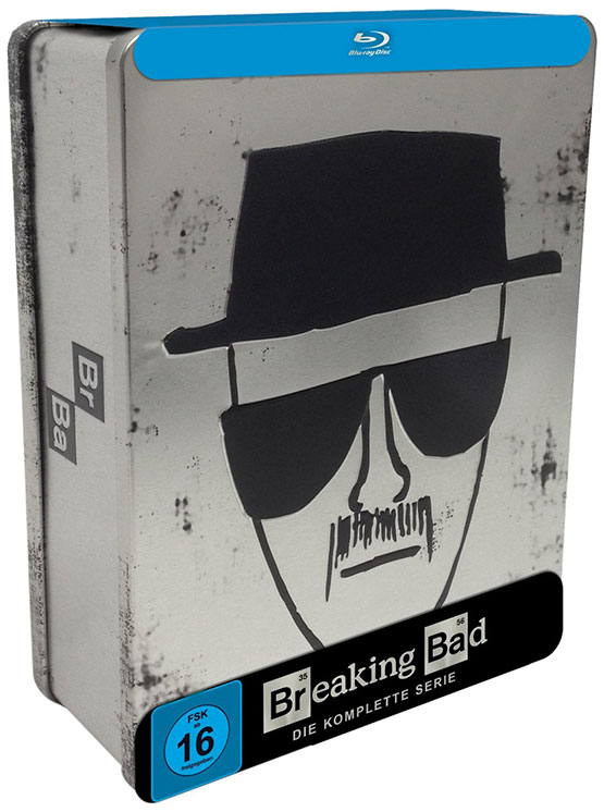 breaking bad limited edition tin box angebot günstig blu-ray serie