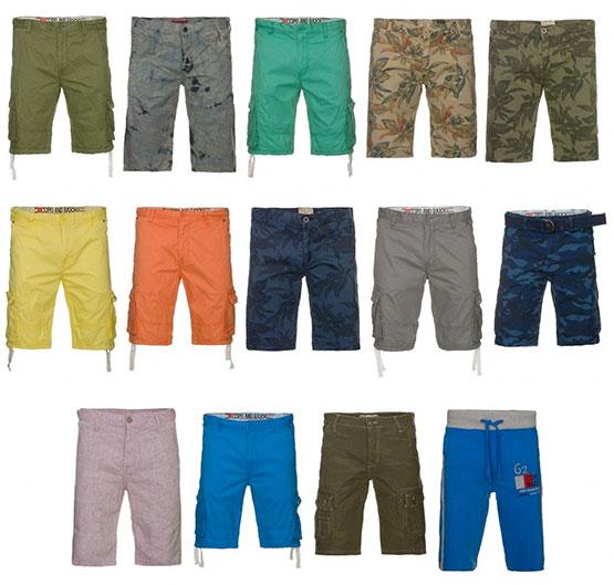 cipo & baxx cargo shorts sommer kurze hose