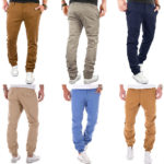 MERISH Joggchino Regular & Chino Slim Fit Herren Chinos für je 17,90€ inkl. Versand