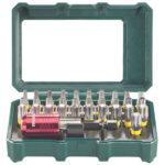 Metabo 32-tlg. Bit-Box mit Farbcodierung für nur 9,99€
