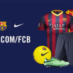 Nike: 50% Rabatt auf original FC Barcelona Artikel