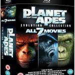 Planet der Affen – Evolution Collection Blu-ray Box für 17,90€ inkl. Versand