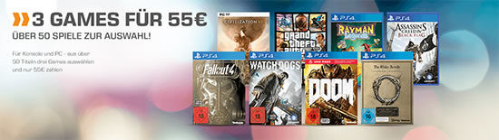 Games Konsole PC PS4 XBOX One Angebot Deal