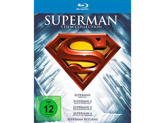 superman blu-ray collection sammlung filme
