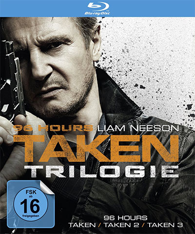 taken trilogie 96 hours bluray