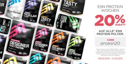 esn whey protein supplement nahrungsergänzung eiweiß pumpen