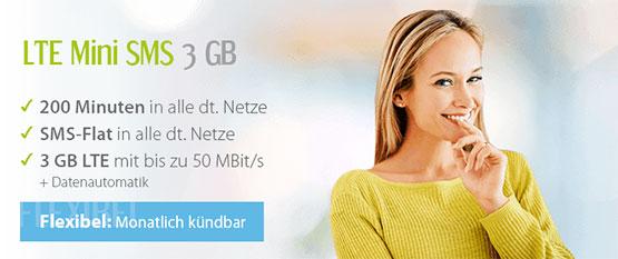 winsim lte sim only tarif günstig internet